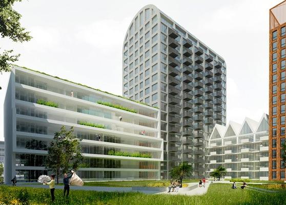 Nautique Living Blok B, C en D Amsterdam - projecten