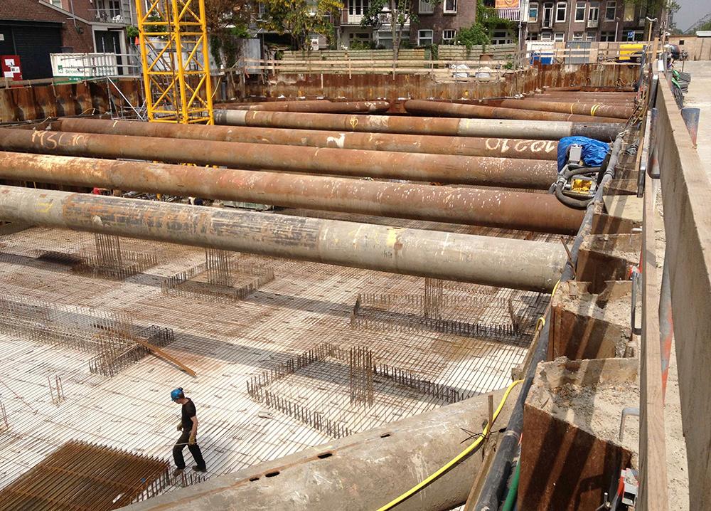 Wibautveste Amsterdam van muijen betonbouw projecten