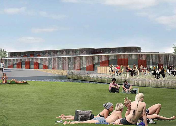 noorderparkbad van muijen betonbouw project