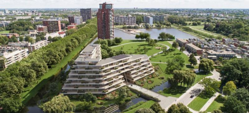 animatie van project Prinsenpark in Rotterdam
